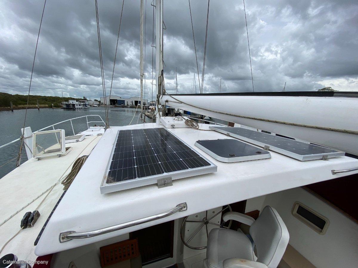 Crowther Design 85 MK2 50' Dagger Board Catamaran