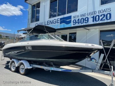 Sea Ray 200 Select - with a 2016 Dunbier trailer