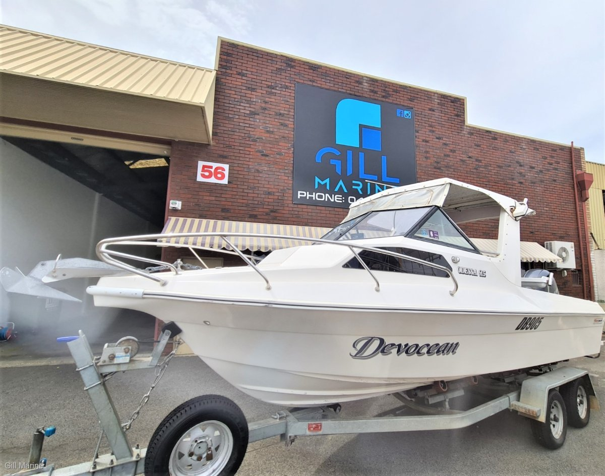 "Yalta Craft 615 Odessa ""LOW HOURS"" TURN KEY FISHING WEAPON READY TO GO!"