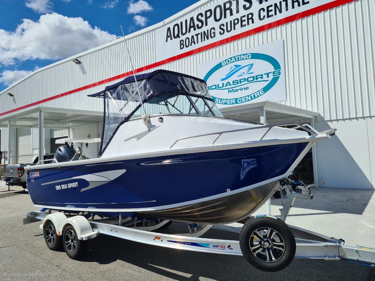 New Quintrex 590 Sea Spirit