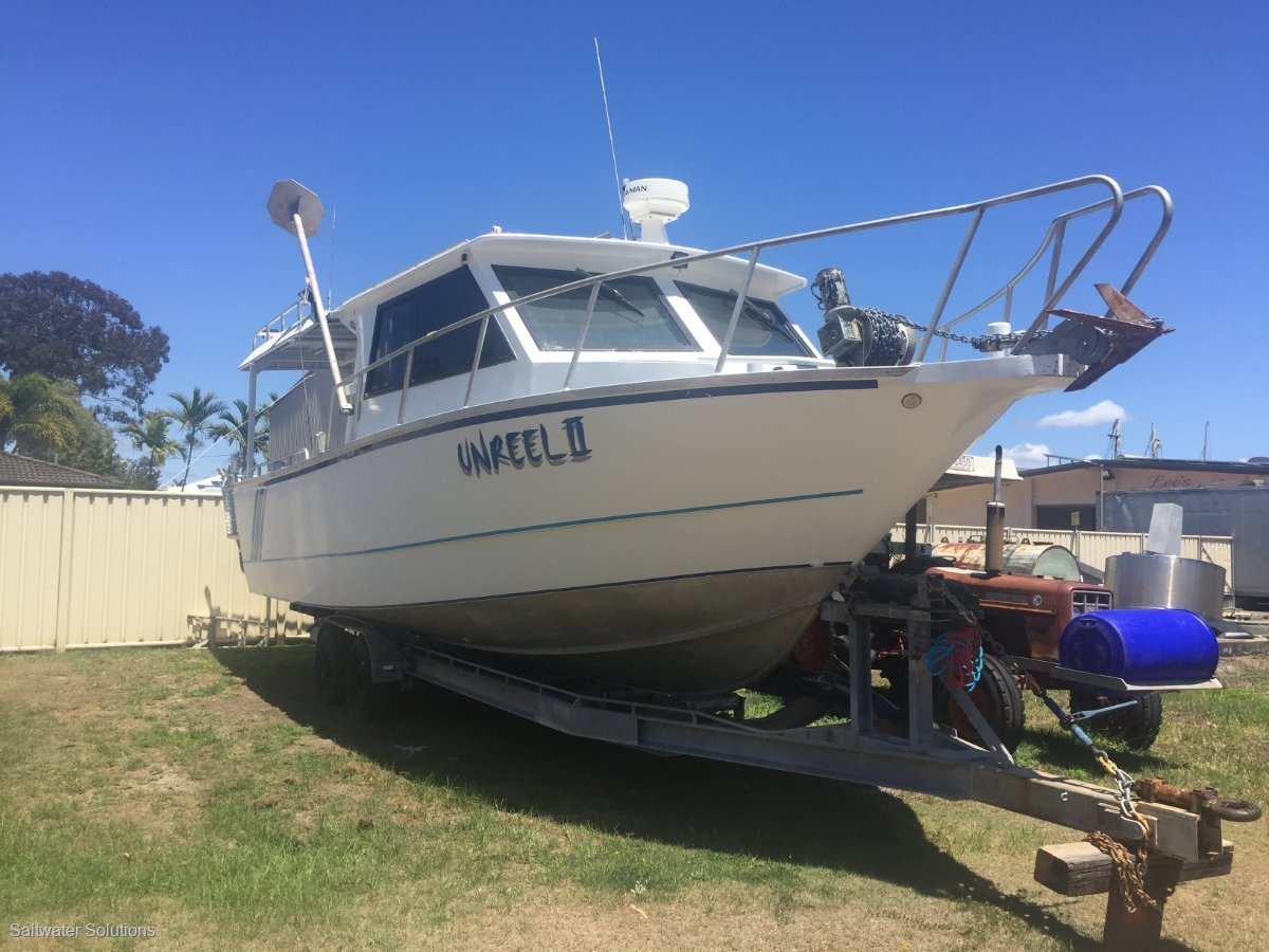 Fisher 9.9 Custom Plate Alloy FISHING VESSEL Huge price reduction