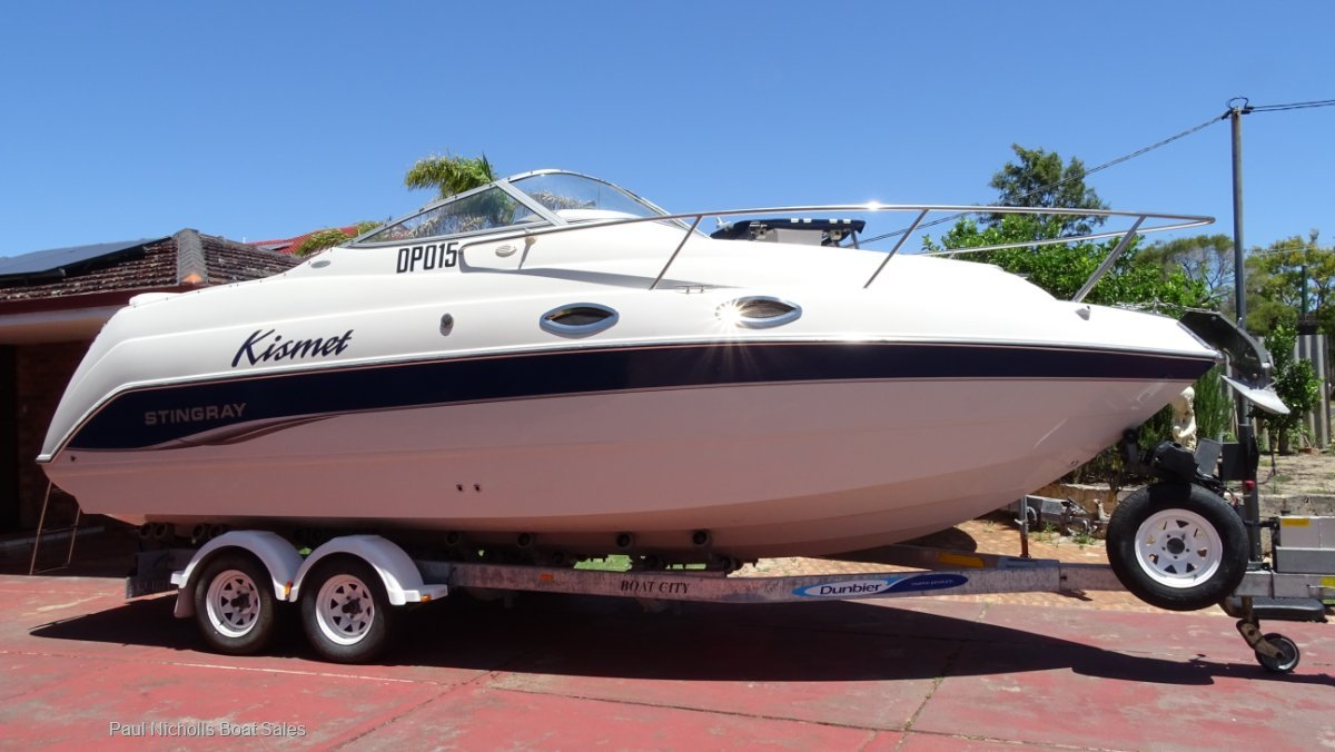 Stingray 240CS GREAT ENTERTAINER/WEEKENDER AND PRICED TO SELL !!