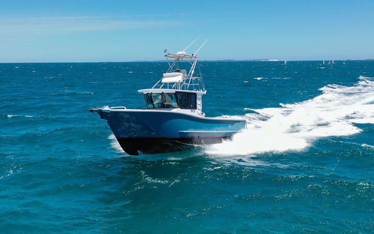 Air Rider 11m Custom Offshore Fishing Vessel