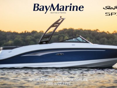 Sea Ray 210 SPX OB Bowrider with Trailer