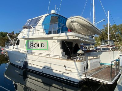Clipper Cordova 48 Semi Displacement Flybridge Coastal Passage Maker