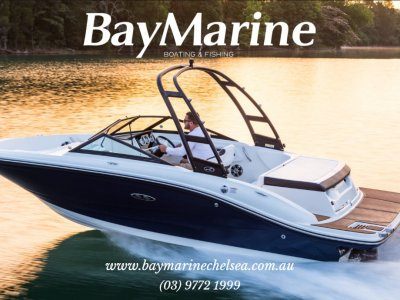 Sea Ray 190 SPX Bowrider with Trailer