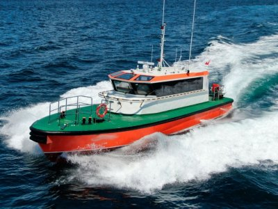 17m Pilot Boat For Sale