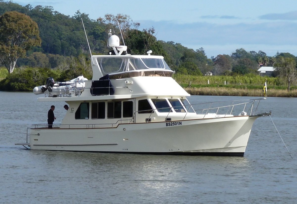 Clipper Cordova 45 Semi Displacement Flybridge Coastal Passage Maker
