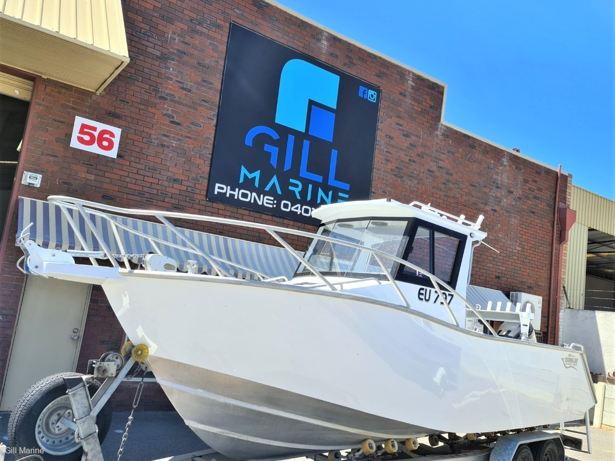 Marineline 700 Enclosed Centre Cab 2014 OFF SHORE FISHING BOAT FORSALE