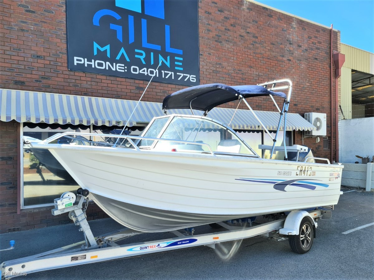Quintrex 510 Escape 2013 POWERED BY 80HP 4 STROKE YAMAHA.. !!!
