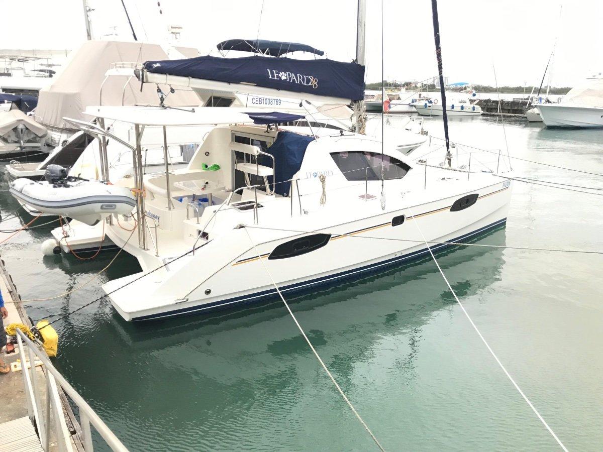 Leopard Catamarans 38