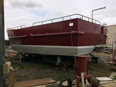 Steel Motor Boat