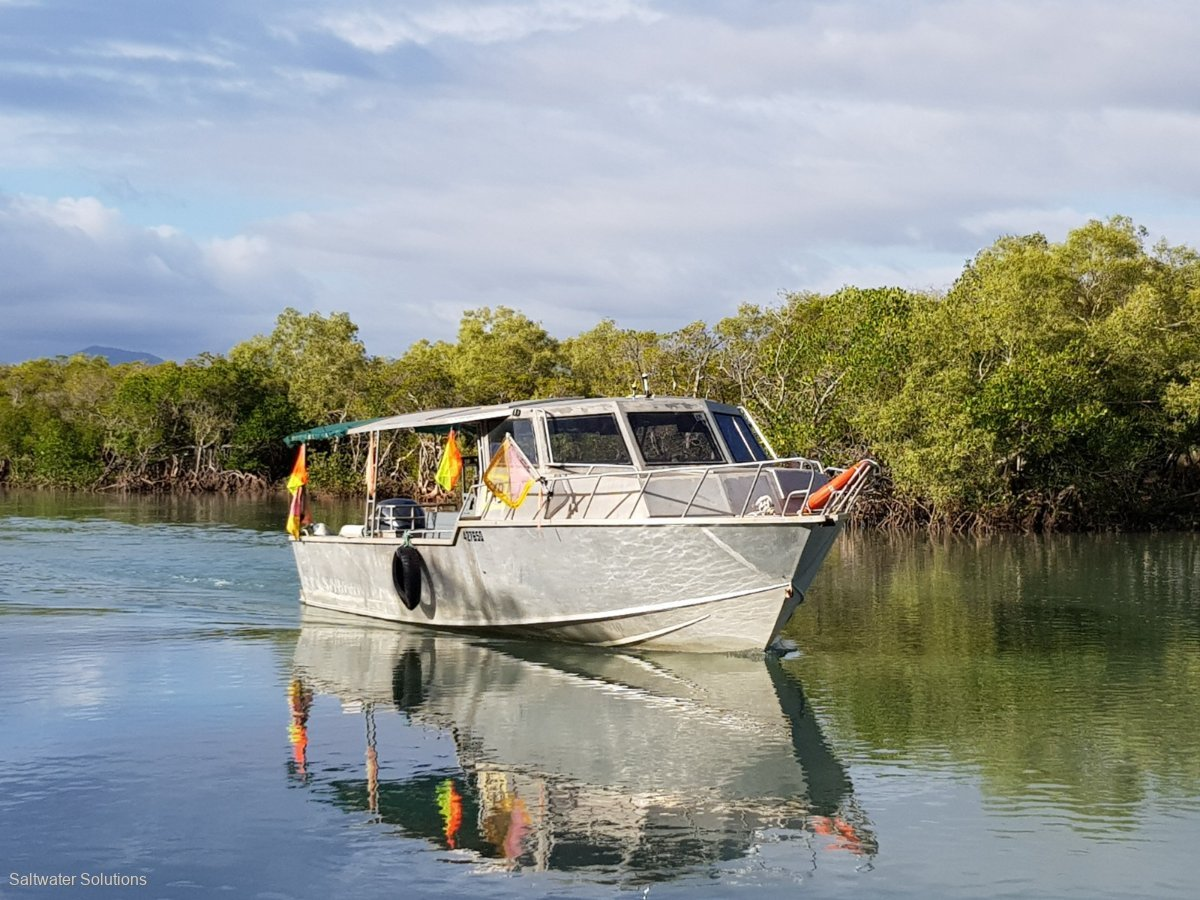 All rounder aluminium fishing boat
