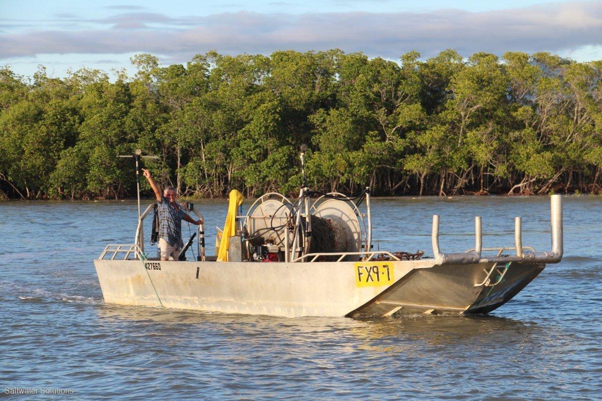 Aluminium Punt. Fishing