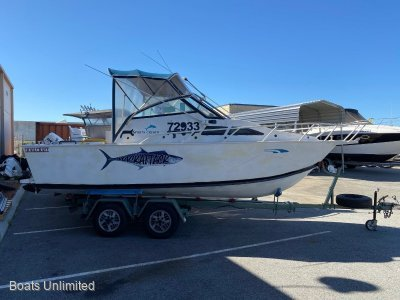 Trailcraft 600 Runabout Plate Alloy GOING HOME MAKE AN OFFER
