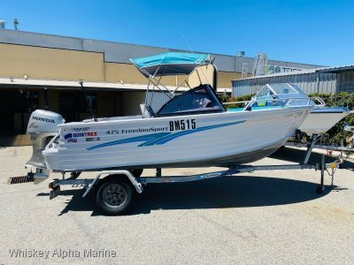 Quintrex 475 Freedom Sport Immaculate
