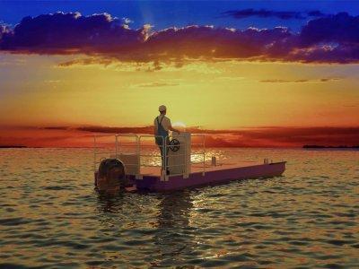 Sabre SPB7000 Self Propelled Spud Barge