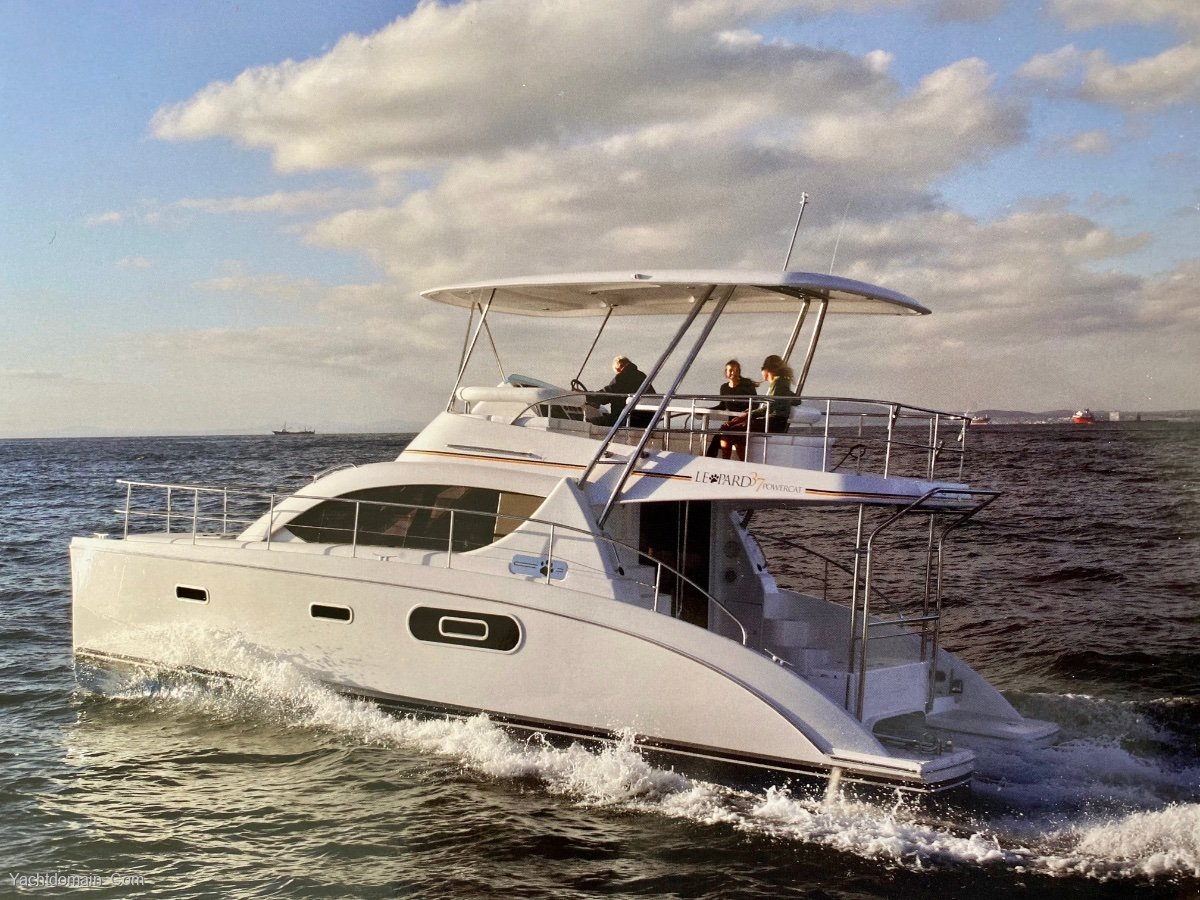 Leopard Catamarans 37:Leopard 37 PC sistership