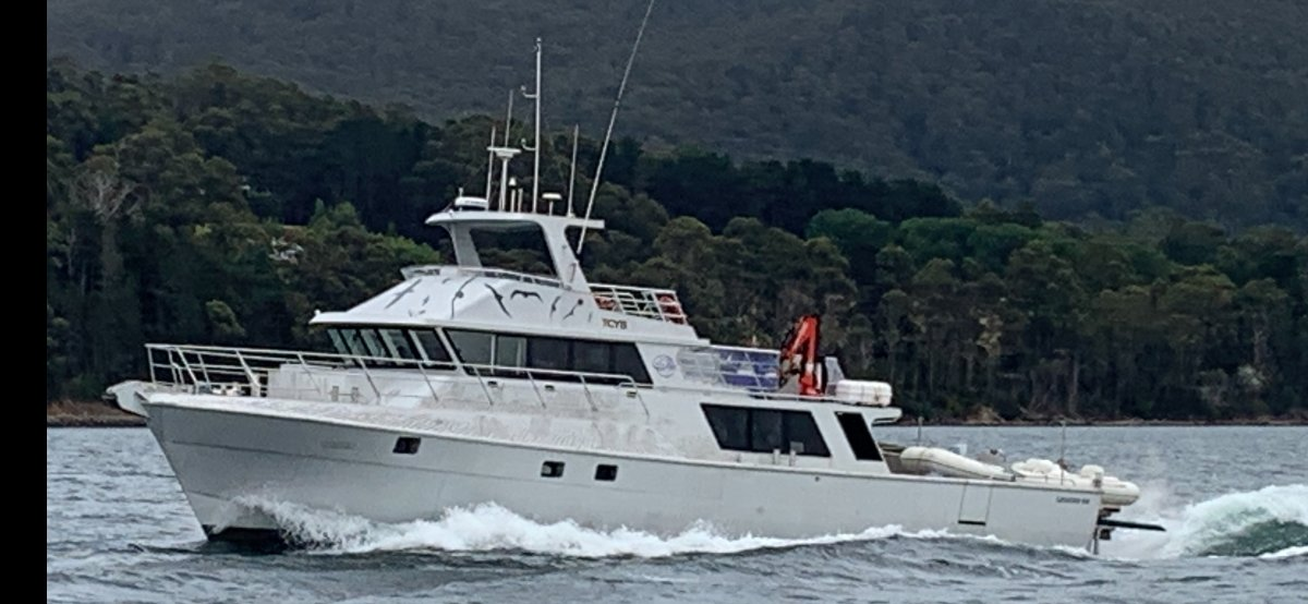 Legend Boats Aluminium Charter Vessel Legend 65