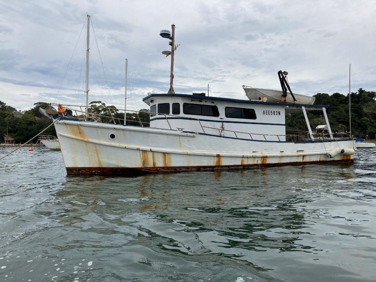 Sharpie Trawler Timber Cruiser Gardner Diesel add value to this vessel ?