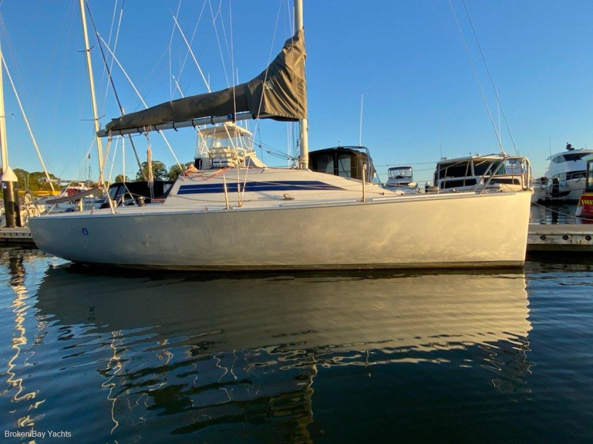 Boatspeed 8M 27.7 overall.