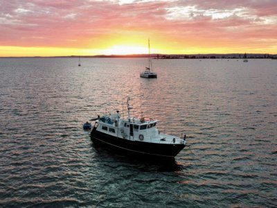Seahorse 52 Pilothouse Liveaboard Trawler