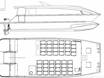 14.26m Passenger Catamaran Kitset