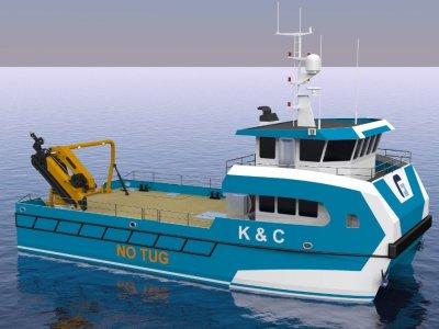 17.5m Multi-Purpose Cat Workboat