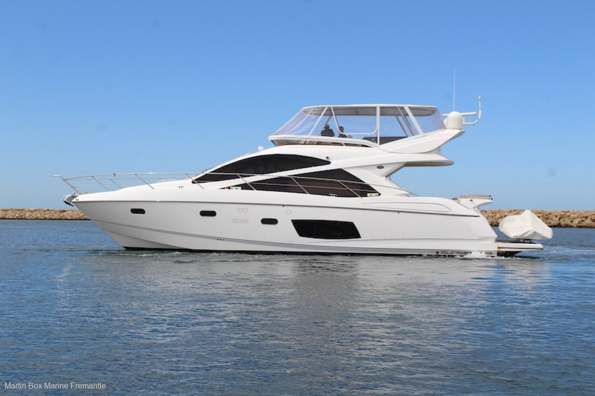 Sunseeker Manhattan 53 Delivered in 2014