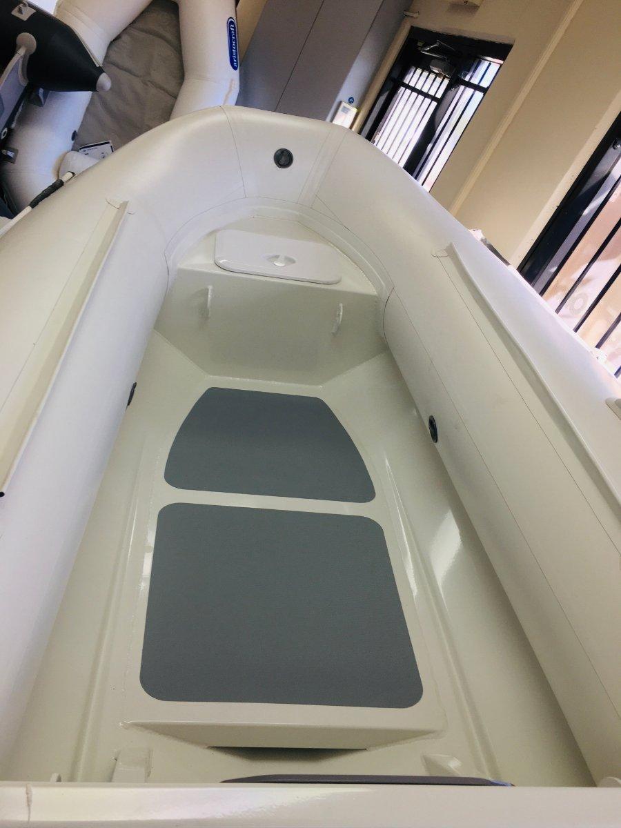 Aristocraft Searover 2.9M Tender INFLATABLE BOAT RIB ALLOY FLAT FLOOR