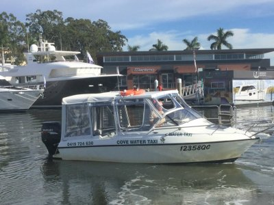 Allison One of two water taxis and business for sale
