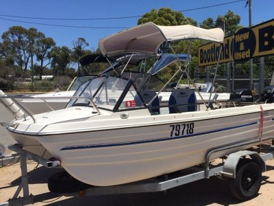 Markham Whaler Twin Hull 4.2 Runabout