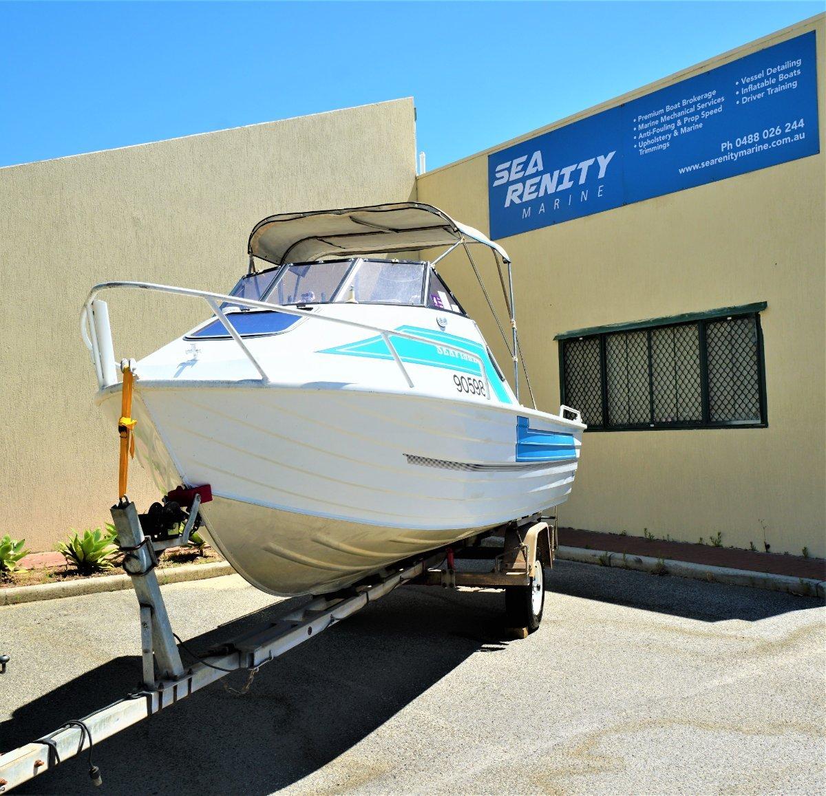 Quintrex 550 Seafisher wont last, be quick