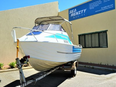 Quintrex 550 Seafisher