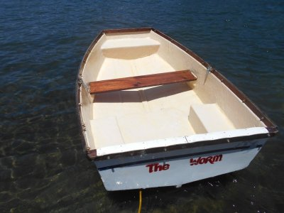 Custom Dinghy Tender Rowboat 6''7 ft snub Pretty