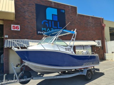Chivers Meridian 550 CB LOW HOURS! PERFECT FIRST FISHING BOAT