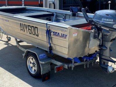 Sea Jay 3.98 Creek Masta Boat, Motor, Trailer Package