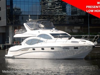 Majesty Yachts 50 - LOW HOURS - WELL PRESENTED