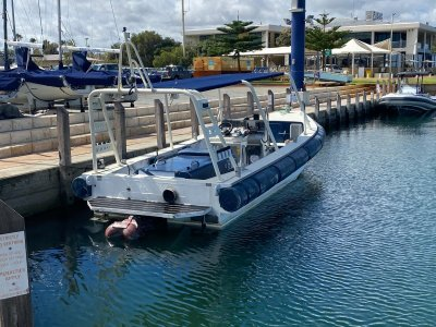 Custom Ex NZ navy ali jet boat, Built to survey