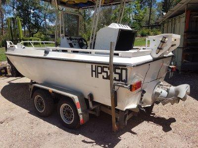 Mackraft Alloy Jet Boat Centre Console