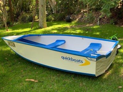 Quickboat 3.7m Adventurer folding boat