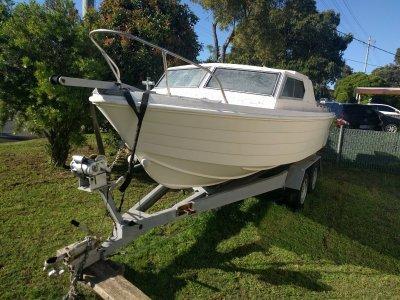 Whittley Voyager Project Boat plus Heavy Duty Boat Trailer