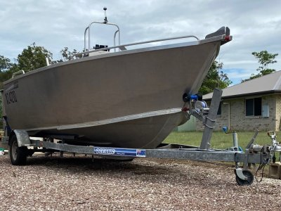 Custom 5.5m Heavy Duty Plate Boat
