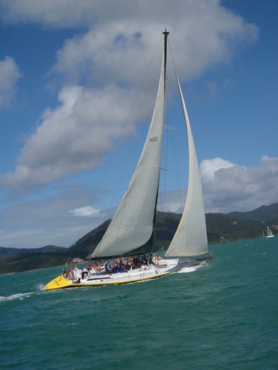 Lexcen 75 Maxi Yacht Life style business