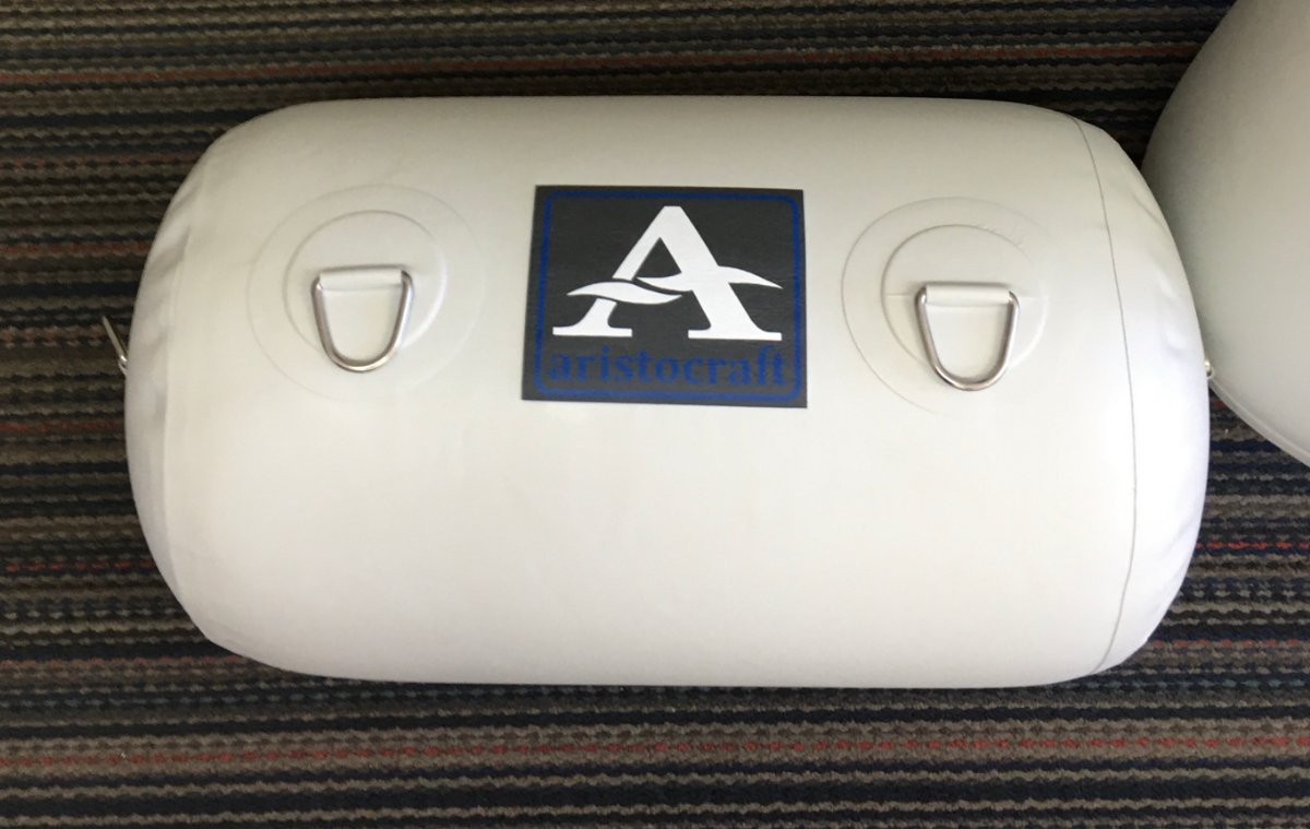 Aristocraft Inflatable Fender White 760MM X 400MM