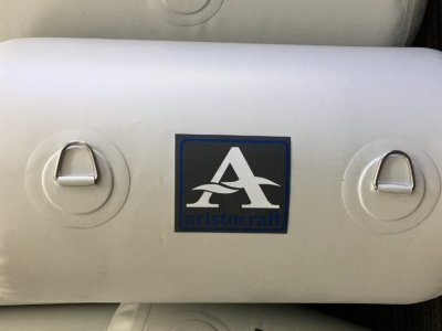 Aristocraft Inflatable Fender White 950MM X 500MM