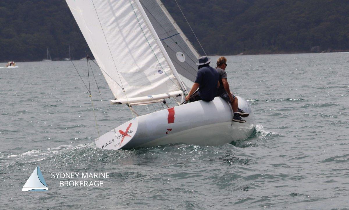 5.5m Racing Yacht 'Kings Cross' KA24