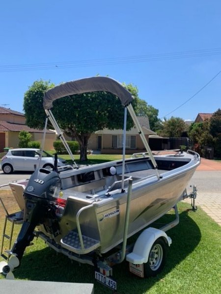 Horizon Aluminium Boats 440 Runabout