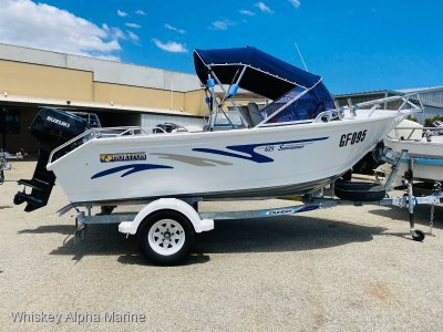 Horizon Aluminium Boats 425 Sunrunner Neat As A Pin