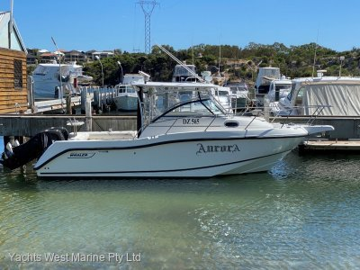 "Boston Whaler 255 Conquest """"BOW THRUSTER & POT WINCH and TIPPER """""